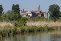 Mantua, Italy, Mincio river Stock Photo