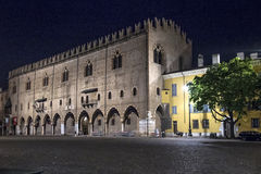 Mantua, Italy, Sordello Square Royalty Free Stock Images