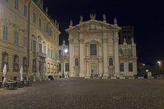 Mantua, Italy, Sordello Square Stock Images