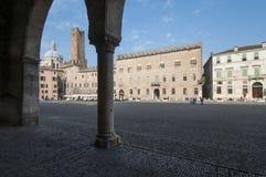 Mantua Lombardia Italia Europa del quadrato di Sordello Fotografie Stock