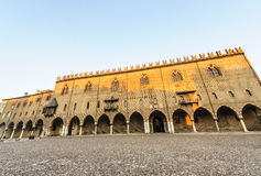Mantua, Palazzo Ducale Royalty Free Stock Photos