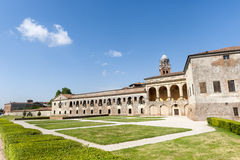Mantua, Palazzo Ducale and castle Stock Images