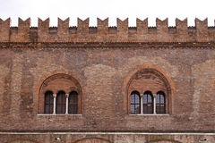 Mantua, Piazza Sordello, Lombardy, Italy Royalty Free Stock Images