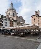 Mantua quadrato Lombardia Italia Europa delle erbe Immagine Stock Libera da Diritti