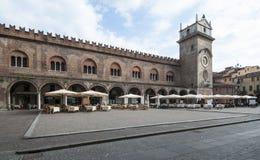 Mantua quadrato Lombardia Italia Europa delle erbe Immagine Stock