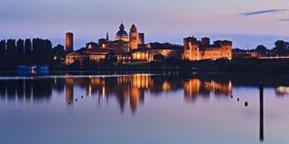 Mantua-Schloss 02 Pan Set Lizenzfreies Stockbild