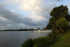 Mantua unterer See, Italien Lizenzfreie Stockfotos