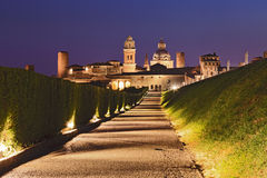 Mantua Way 2 Castle Set Stock Photo