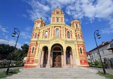 Mantuleasa教会(18世纪) 免版税库存图片