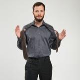 Mantying krawat obraz royalty free