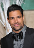 Manu Bennett. LOS ANGELES, CA - DECEMBER 9, 2014: Manu Bennett at the Los Angeles premiere of his movie The Hobbit: The Battle of the Five Armies at the Dolby Royalty Free Stock Photography
