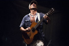 Manu Chao live Royalty Free Stock Images