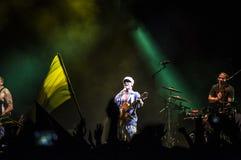 Manu Chao live Royalty Free Stock Photo