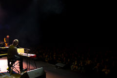 Manu Guix in concert. Barcelona Stock Images