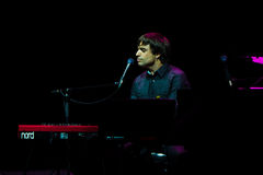 Manu Guix in concert. Barcelona Royalty Free Stock Photography