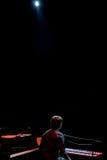 Manu Guix im Konzert. Barcelona Stockbild