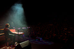 Manu Guix im Konzert. Barcelona Lizenzfreie Stockfotografie