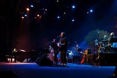 Manu Guix im Konzert. Barcelona Lizenzfreies Stockfoto