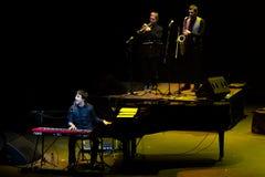 Manu Guix no concerto. Barcelona foto de stock