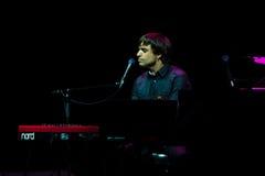Manu Guix no concerto. Barcelona fotografia de stock royalty free