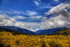 Manu National Park. View from the entrance to Manu National Park, Peru. HDR image Royalty Free Stock Images