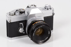 Manual 35mm SLR Camera Stock Photos