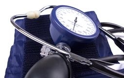 Manual blood pressure medical tool Royalty Free Stock Photography