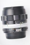 Manual camera lens Stock Photography