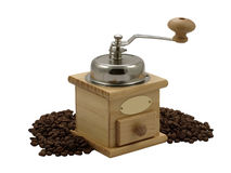 Manual coffee grinder. Royalty Free Stock Photos