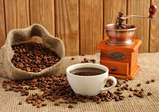 Manual coffee grinder Royalty Free Stock Photo