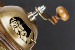 Manual coffee grinder Royalty Free Stock Photography