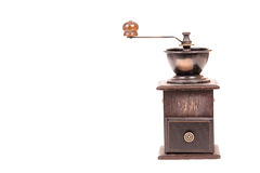 Manual coffee grinder Stock Images