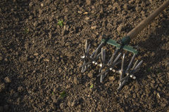 Manual cultivator Royalty Free Stock Images