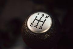 Manual del botón del engranaje Imagen de archivo libre de regalías