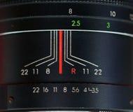 Manual focus SLR vintage  zoom lens Stock Photography
