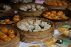 Manual food. Chinese town of Shanghai snacks Stock Photography