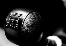 Manual gear control Royalty Free Stock Photography