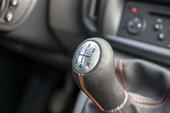 Manual gear shifter Royalty Free Stock Images
