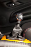 Manual gearshift Stock Images