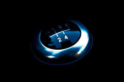 Manual gearshift Royalty Free Stock Photos