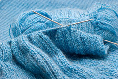 Manual knitting Stock Photography