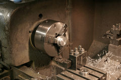 Manual Lathe Royalty Free Stock Photos