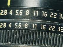 Manual lens close up super macro shot Royalty Free Stock Image