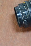 Manual lens for single lens reflect camera Royalty Free Stock Images
