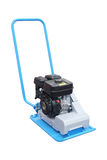 Manual leveling machine asphalt Stock Photos