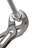Manual locksmith tools] Stock Photo