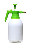 Pressure Sprayer on White Stock Photos
