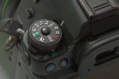 Manual mode in camera mode dial Royalty Free Stock Photography