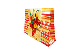 Manual paper bag Royalty Free Stock Photo