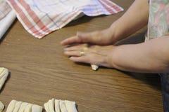 Italian traditional handmade pasta stock video